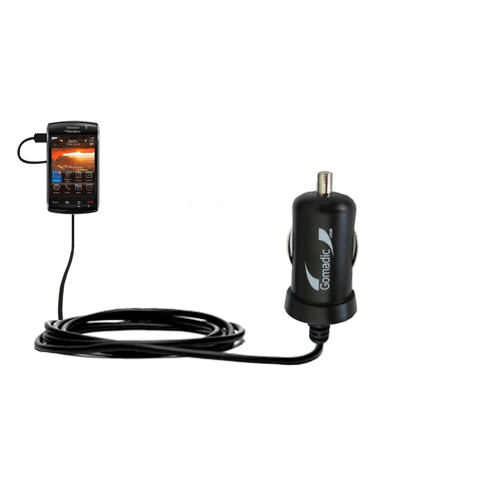 Mini Car Charger compatible with the Verizon Storm