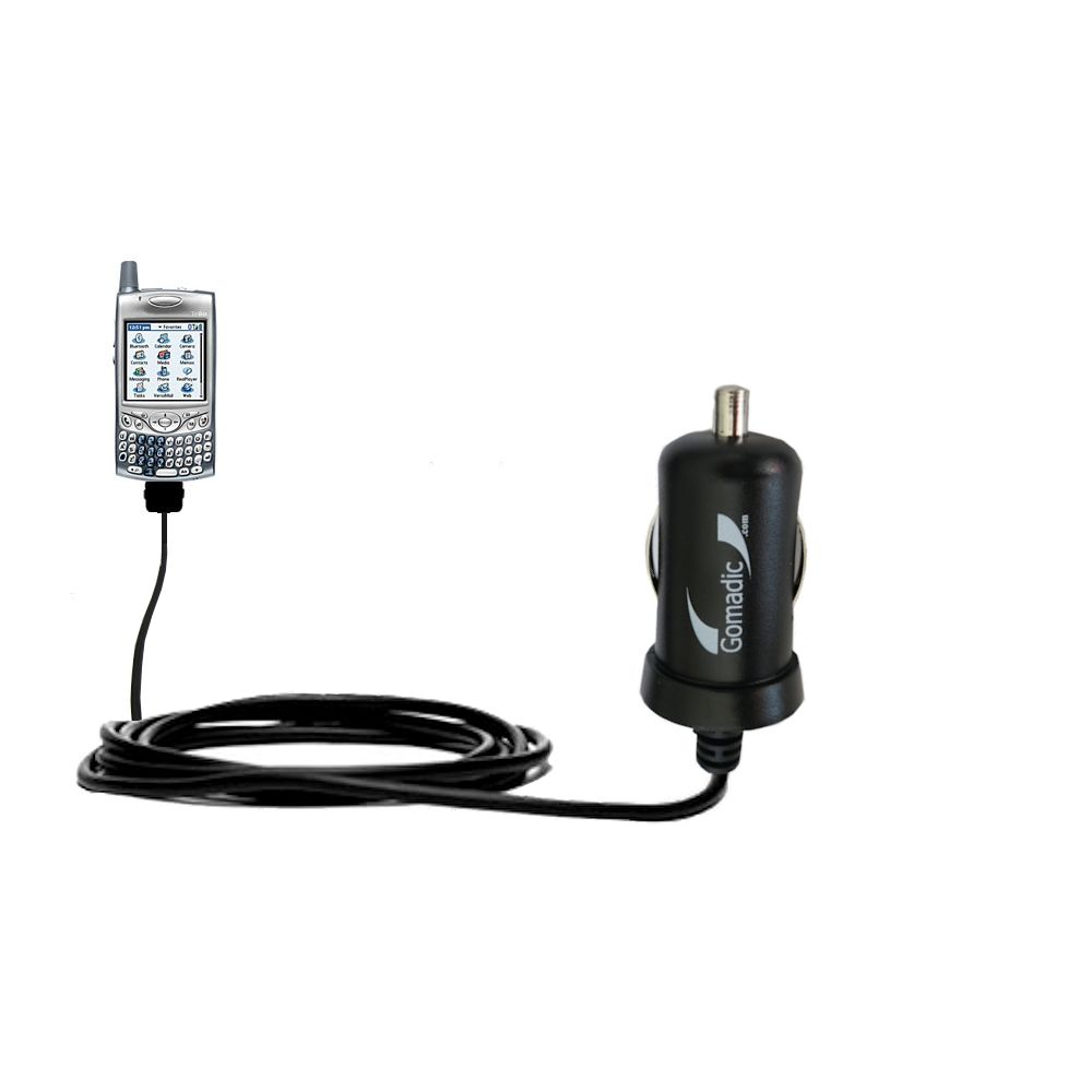 Mini Car Charger compatible with the Verizon Treo 650
