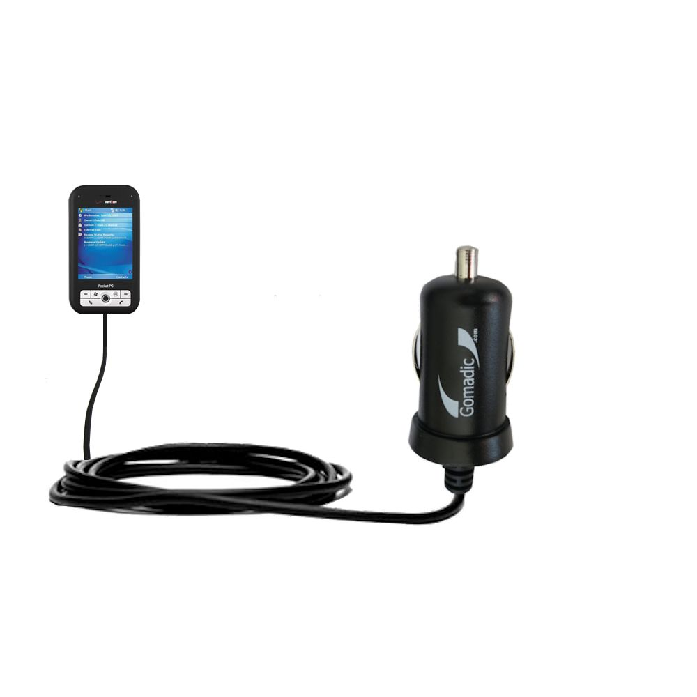 Mini Car Charger compatible with the Verizon XV6700 XV6800