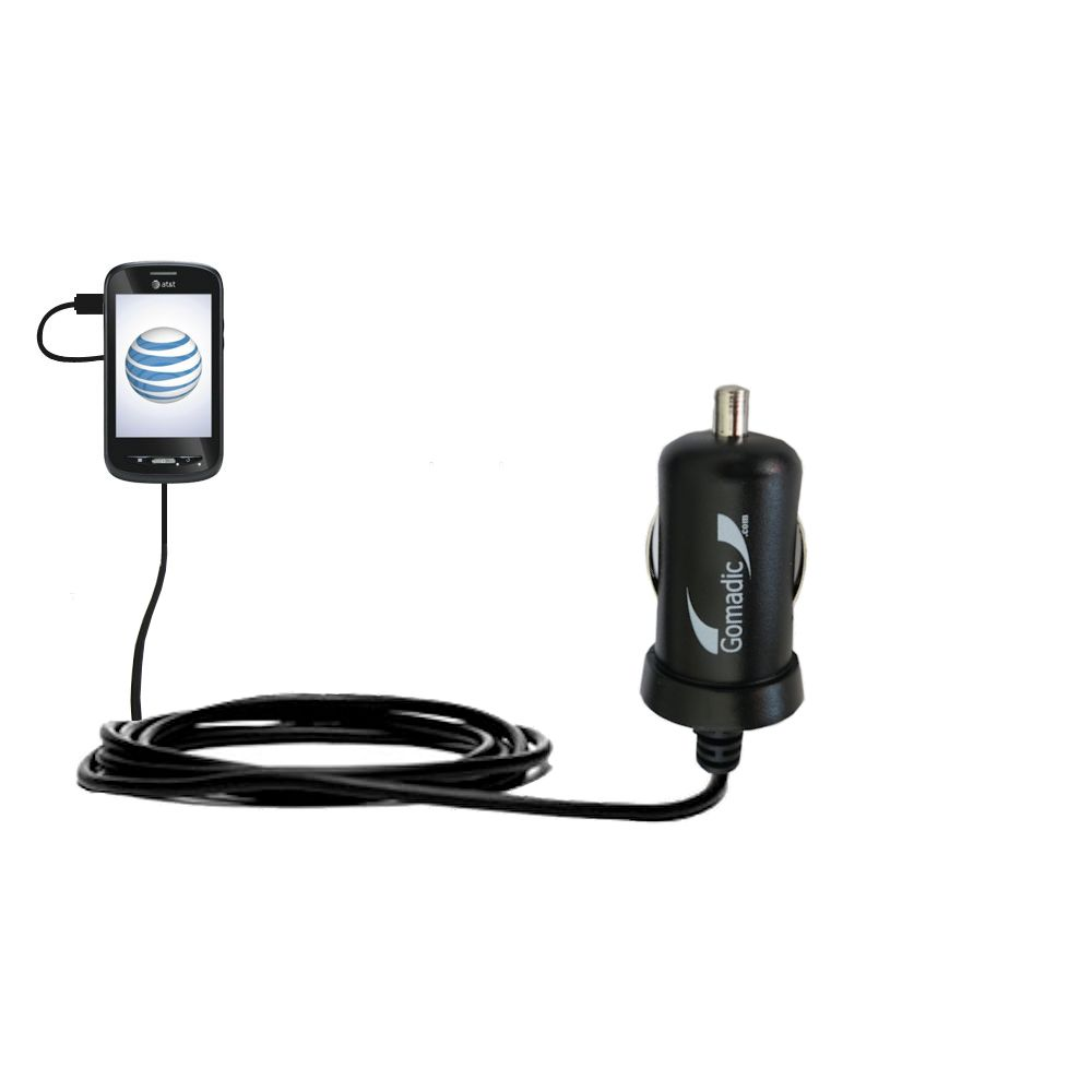 Mini Car Charger compatible with the ZTE Merit Z990G