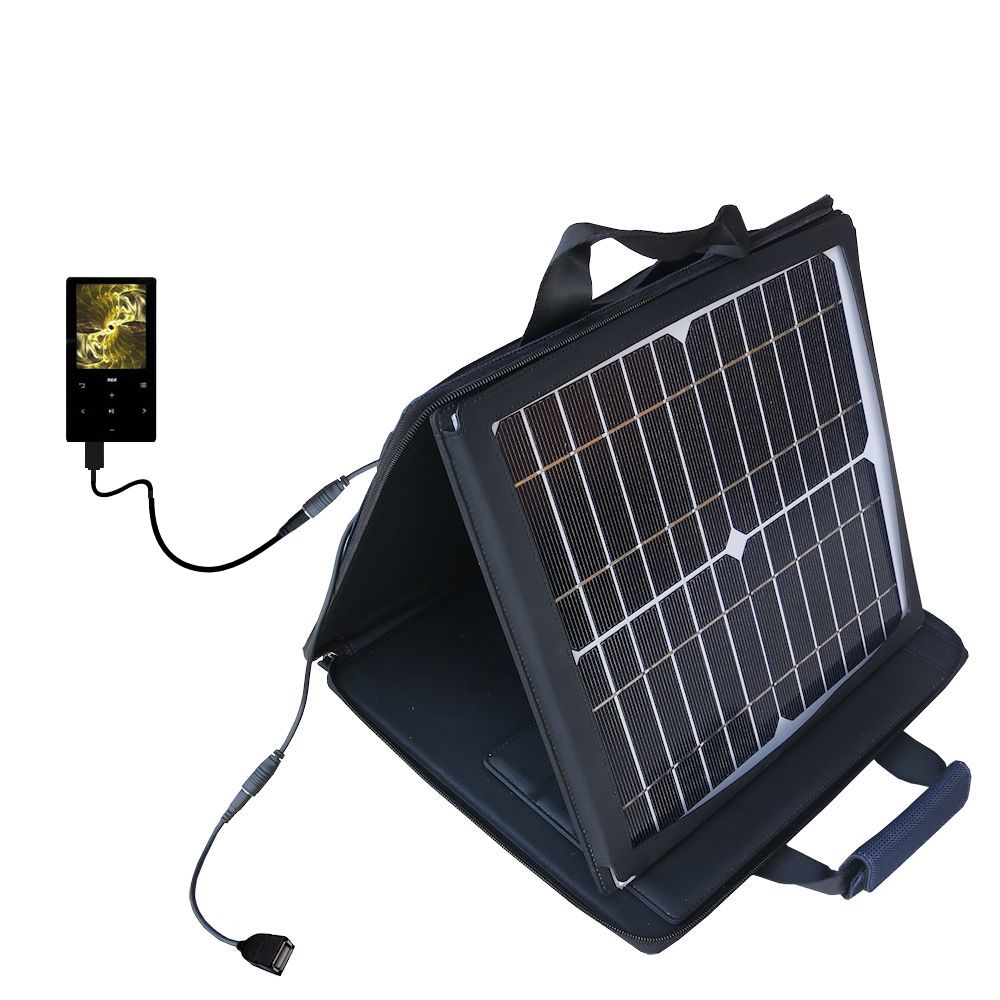 SunVolt Solar Charger compatible with the RCA M6204 and one other device - charge from sun at wall outlet-like speed