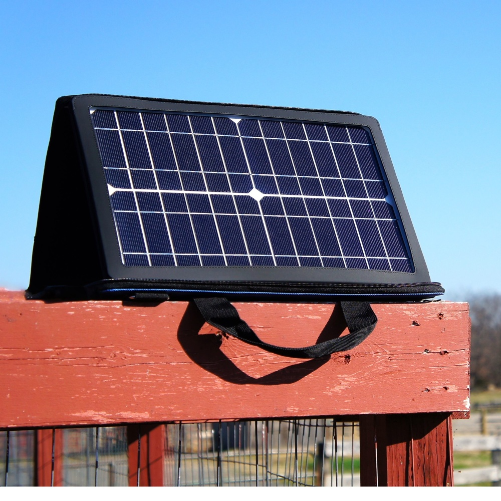 15W Solar Panel with Case