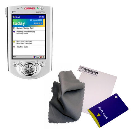 Screen Protector compatible with the Compaq iPAQ h3600 Series