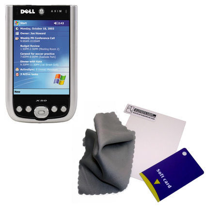 Screen Protector compatible with the Dell Axim X50 X50v