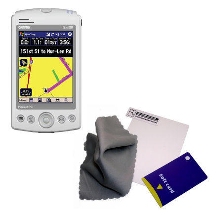 Screen Protector compatible with the Garmin iQue M5