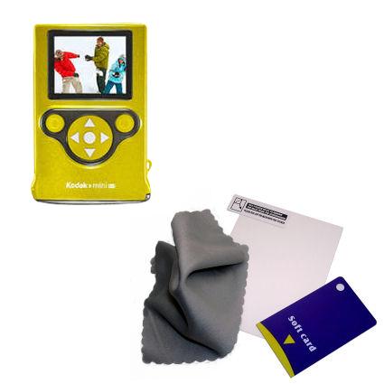 Screen Protector compatible with the Kodak Zm2 Mini Video Camera