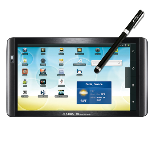 Archos 101 Internet Tablet compatible Precision Tip Capacitive Stylus with Ink Pen