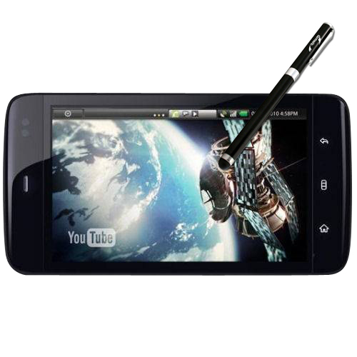 Dell Streak 5 compatible Precision Tip Capacitive Stylus with Ink Pen