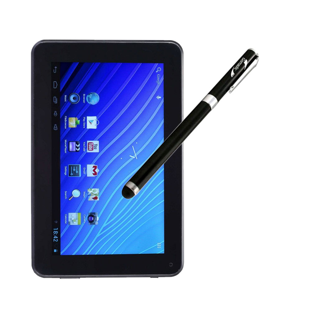 Double Power DOPO EM63 7 inch tablet compatible Precision Tip Capacitive Stylus with Ink Pen