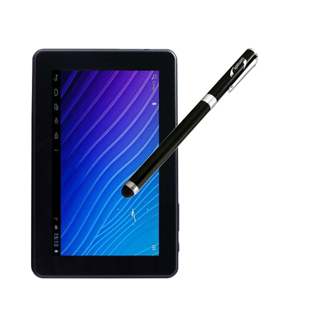 Double Power M7088 7 inch tablet compatible Precision Tip Capacitive Stylus with Ink Pen