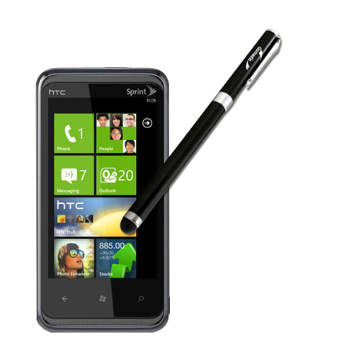 HTC Eternity compatible Precision Tip Capacitive Stylus with Ink Pen