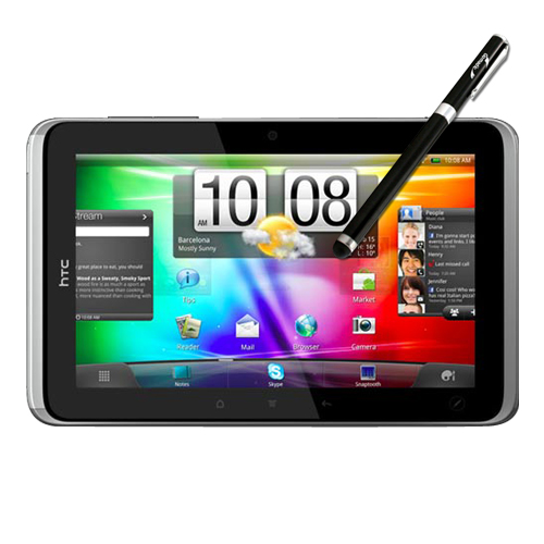 HTC Flyer compatible Precision Tip Capacitive Stylus with Ink Pen