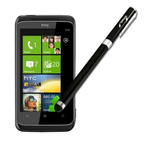 HTC Mazaa compatible Precision Tip Capacitive Stylus with Ink Pen