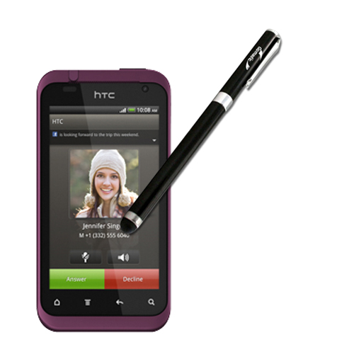 HTC Rhyme compatible Precision Tip Capacitive Stylus with Ink Pen