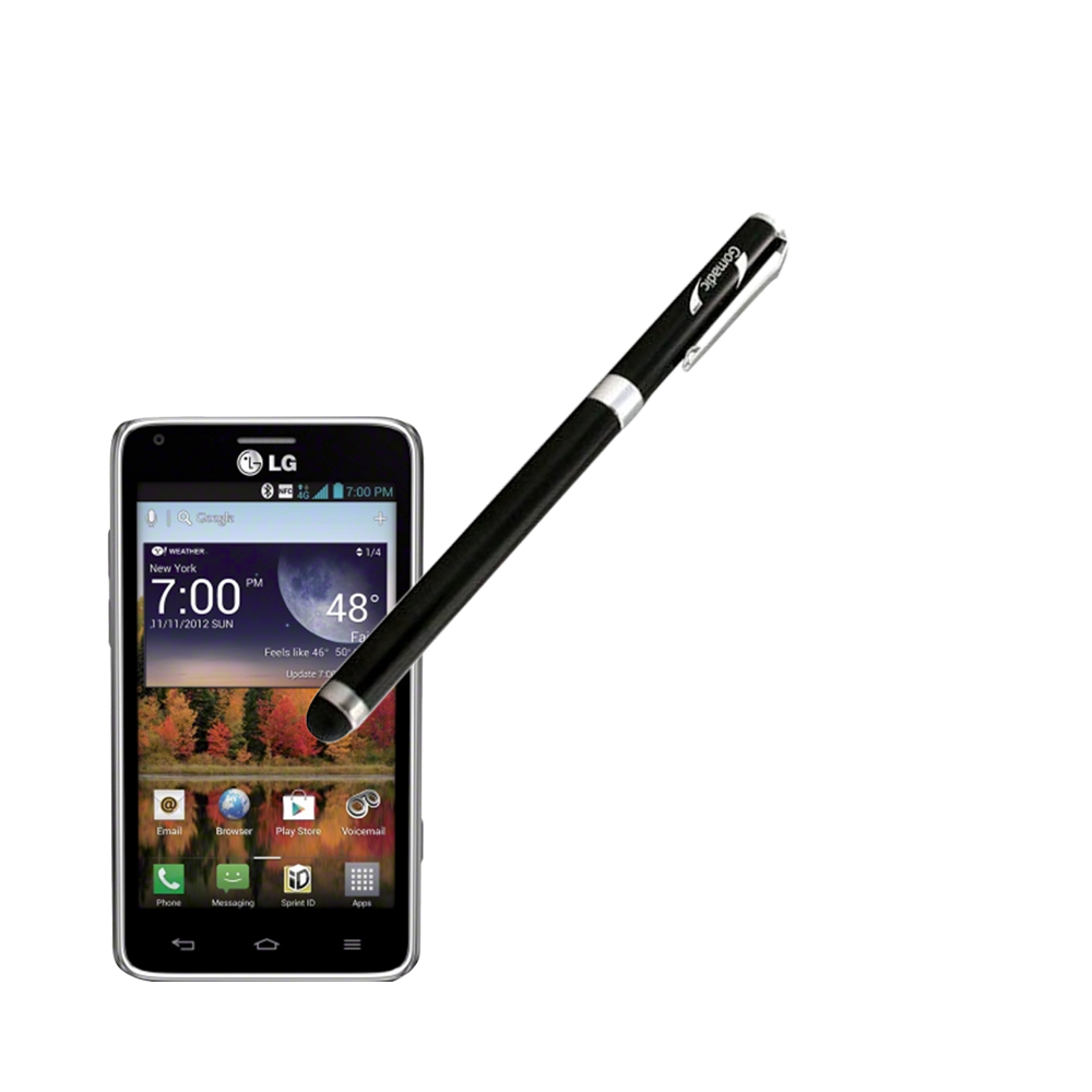 LG Mach compatible Precision Tip Capacitive Stylus with Ink Pen