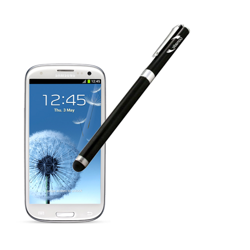 Gomadic Precision Tip Capacitive Stylus designed for the Samsung Galaxy S III with Integrated Ink Ballpoint Pen - Lifetime Warranty
