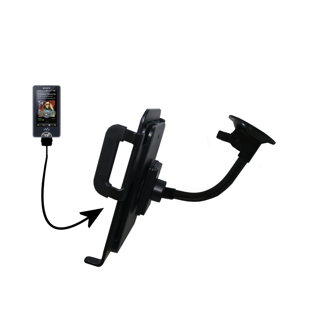 Unique Suction Cup Mount / Holder Stand designed for the Sony X Series Tablet