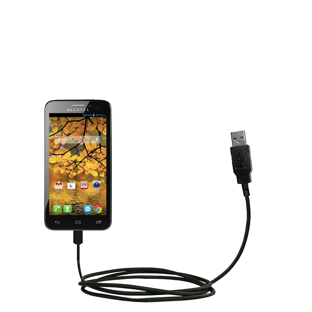 USB Cable compatible with the Alcatel One Touch Fierce