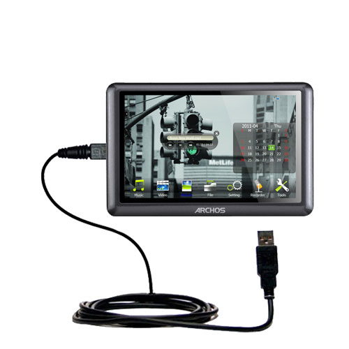USB Cable compatible with the Archos 50b Vision