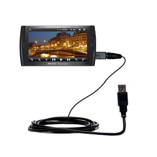 USB Cable compatible with the Archos 7 Home Tablet with Android