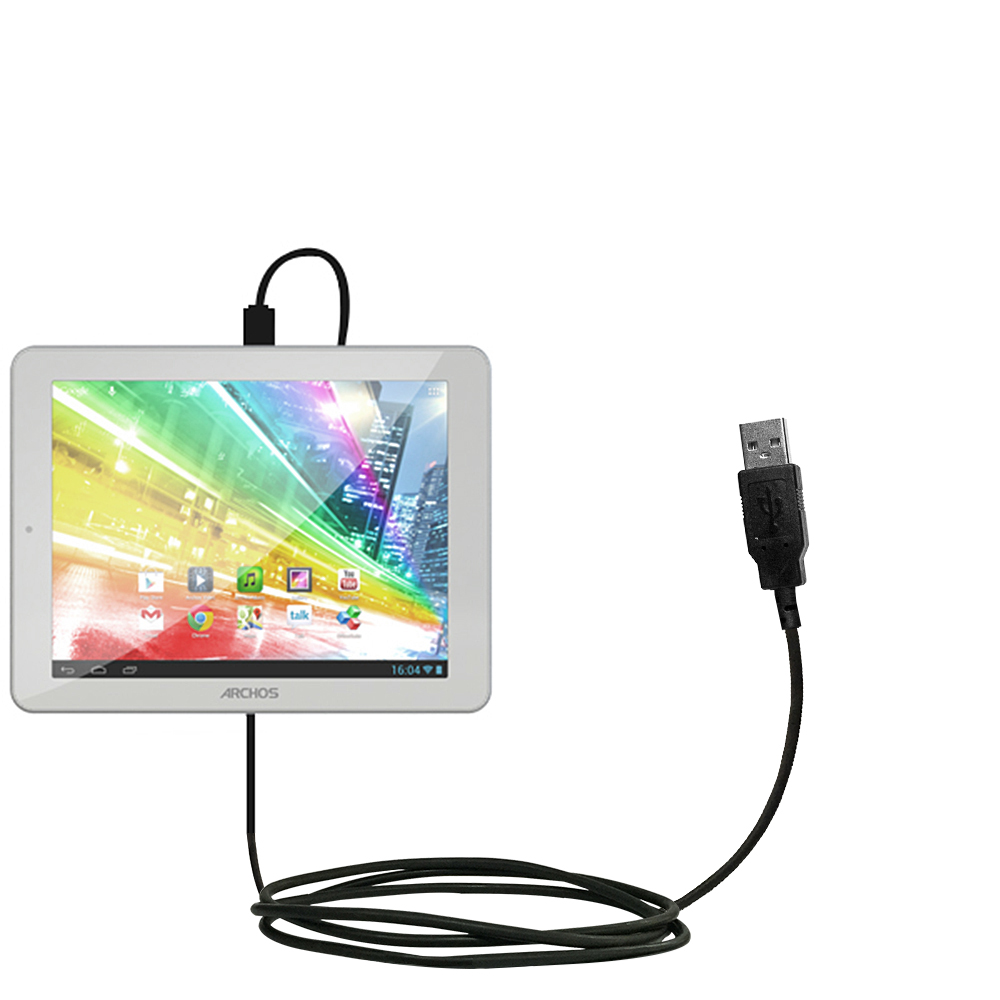 USB Cable compatible with the Archos 80b Platinum