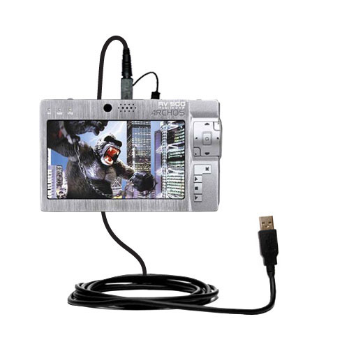 USB Cable compatible with the Archos AV500 Series