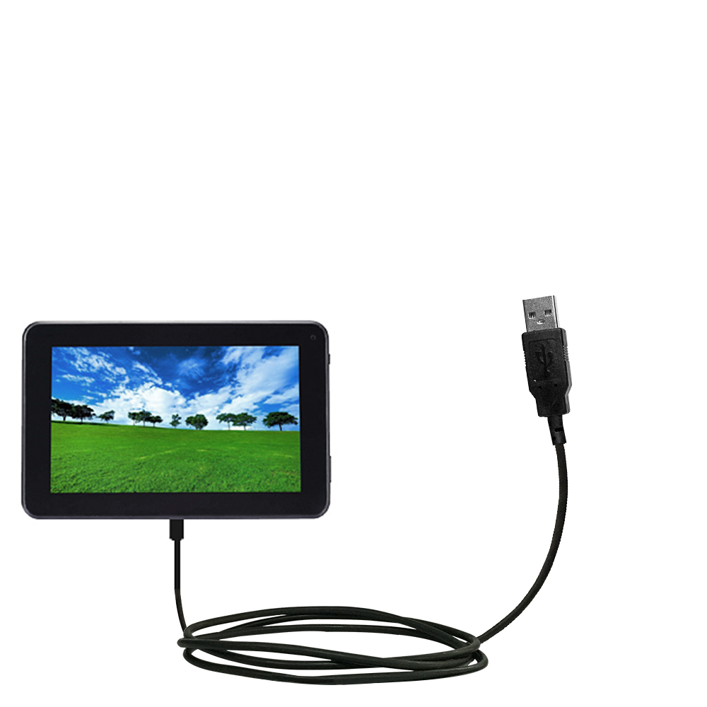 USB Cable compatible with the Double Power D7020 D7015 7 inch tablet