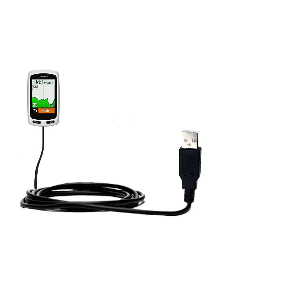 USB Cable compatible with the Garmin Edge 1000