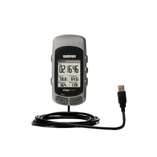 USB Cable compatible with the Garmin Edge 205