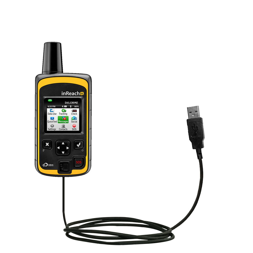 USB Cable compatible with the Garmin inReach SE+