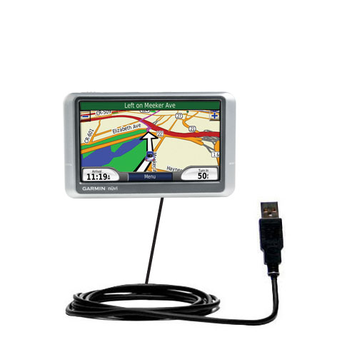 USB Cable compatible with the Garmin Nuvi 215W 215T