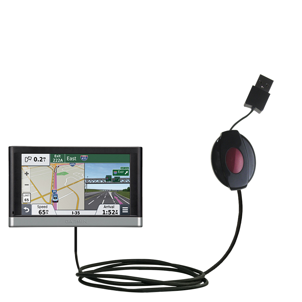 Classic Straight USB Cable Suitable For The Garmin Nuvi - Nuvi 2557