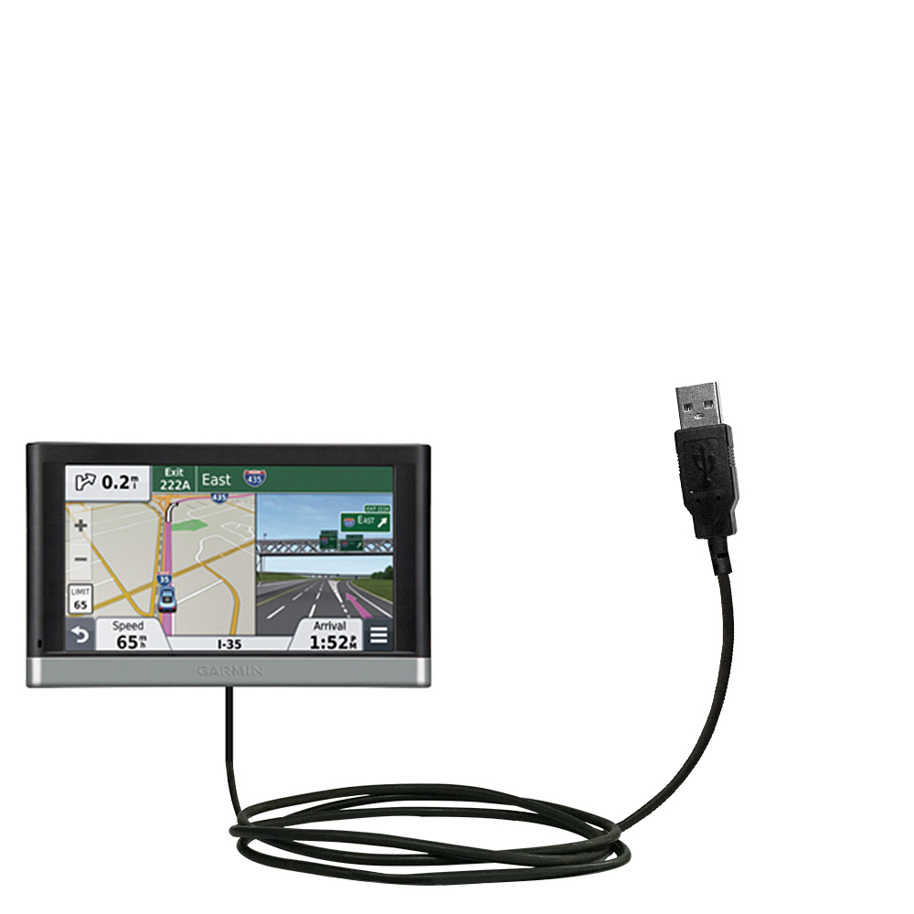 Classic Straight USB Cable suitable for the Garmin nuvi 2557 / 2577 / 2597  LMT with Power Hot ...