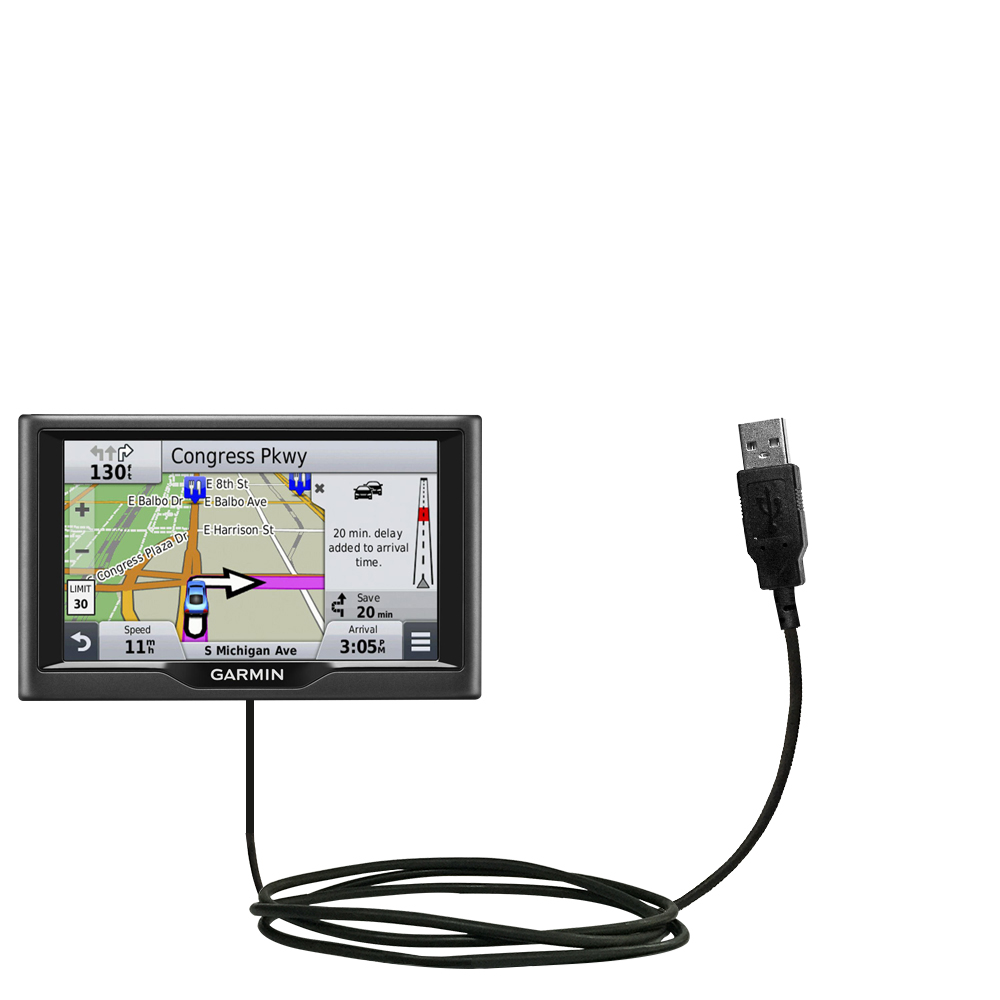 USB Cable compatible with the Garmin nuvi 67 / 68 LM LMT