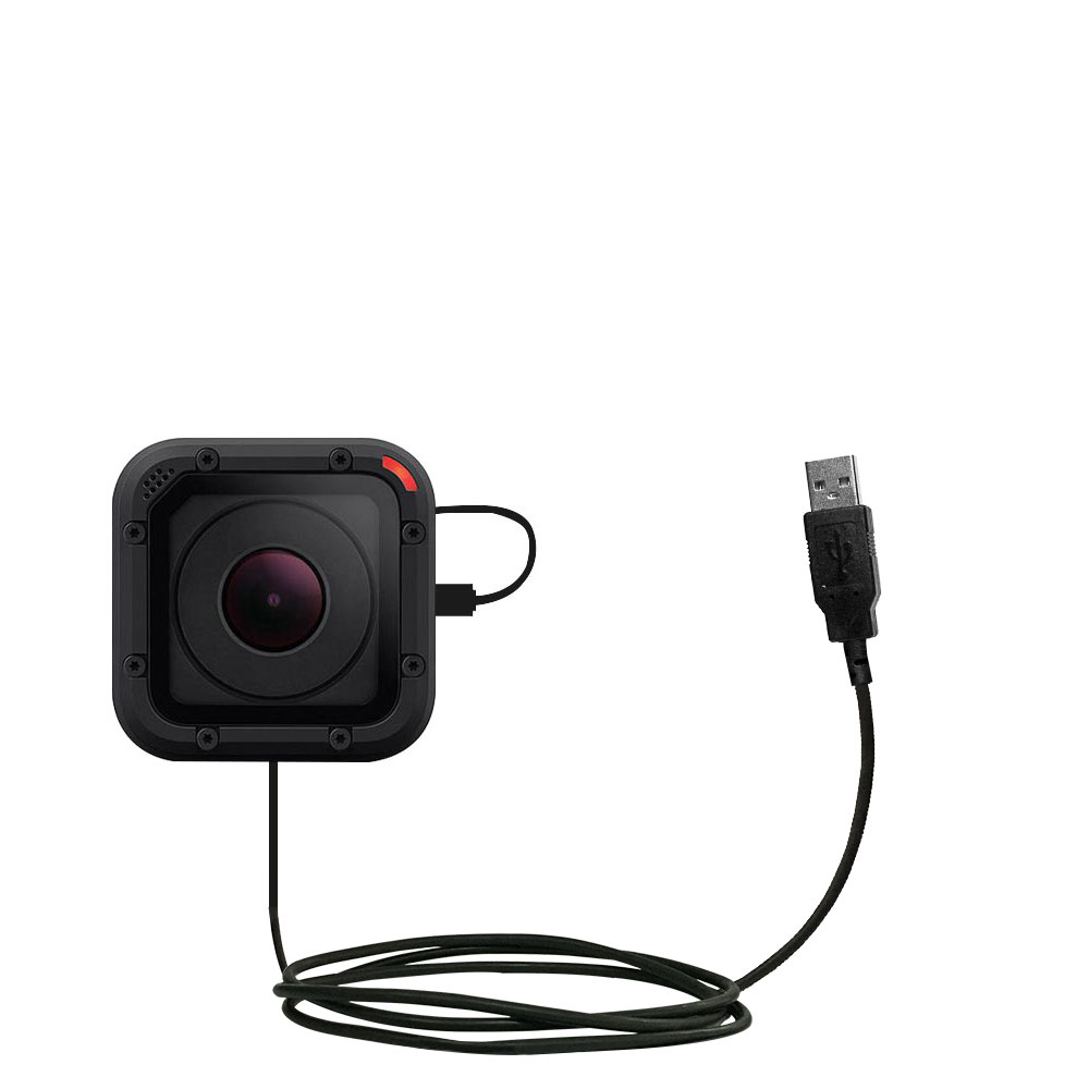 USB Power Port Ready Retractable USB Charge USB Cable Wired specifically for The GoPro Hero Session and uses TipExchange