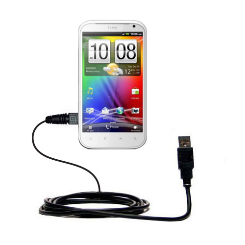 USB Cable compatible with the HTC Bliss