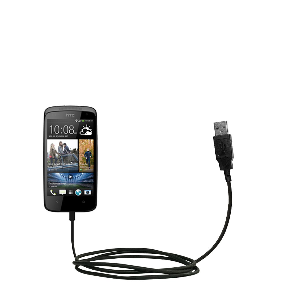 USB Cable compatible with the HTC Desire 500