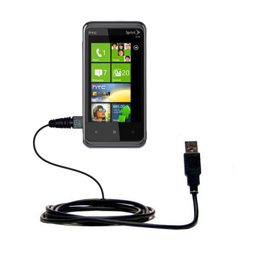 USB Cable compatible with the HTC Eternity