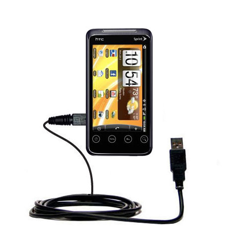 USB Cable compatible with the HTC Evo Shift 4G