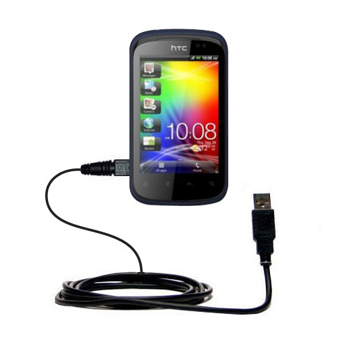 USB Cable compatible with the HTC Explorer