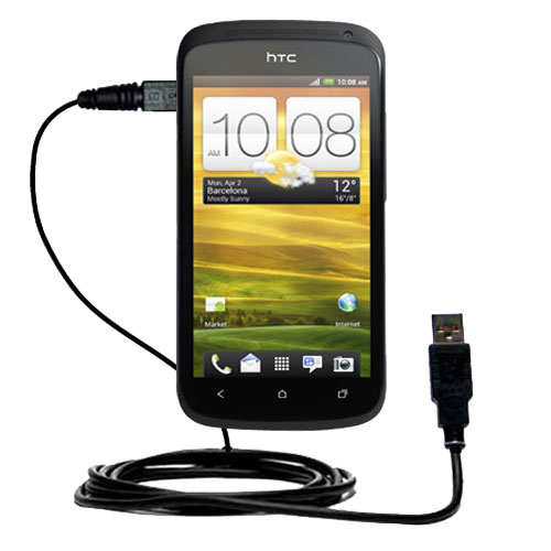 USB Cable compatible with the HTC One S / Ville