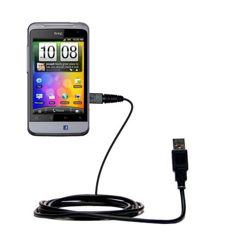 USB Cable compatible with the HTC Salsa