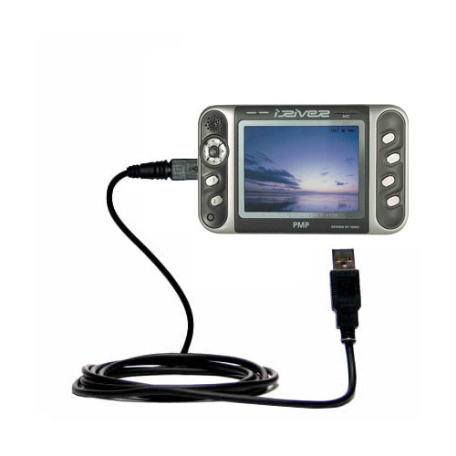 compact and retractable USB Power Port Ready charge cable designed for the iRiver PMP-100 and uses TipExchange