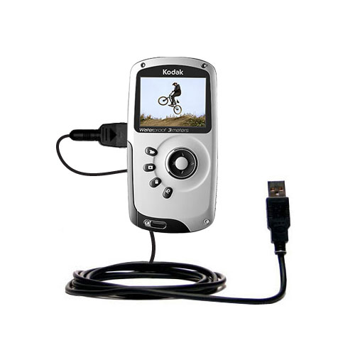 USB Cable compatible with the Kodak PlaySport Pocket Video Camera