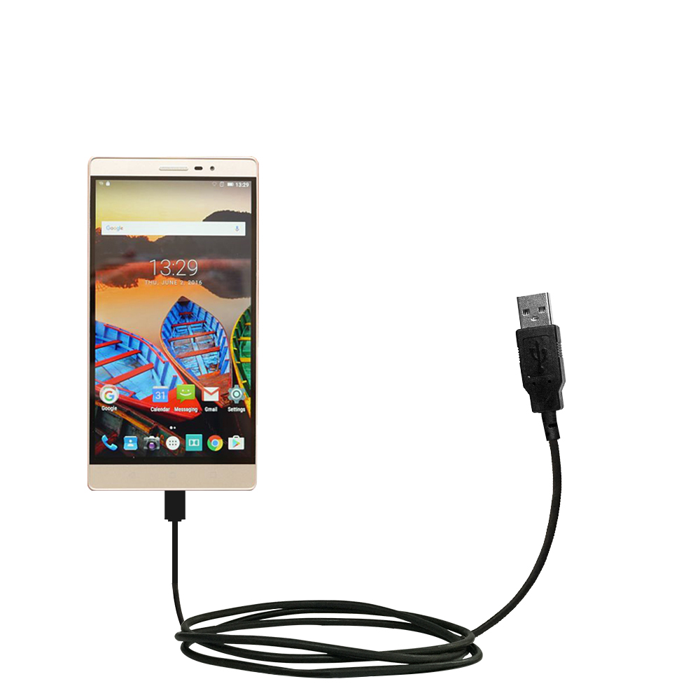 USB Cable compatible with the Lenovo PHAB 2 Pro