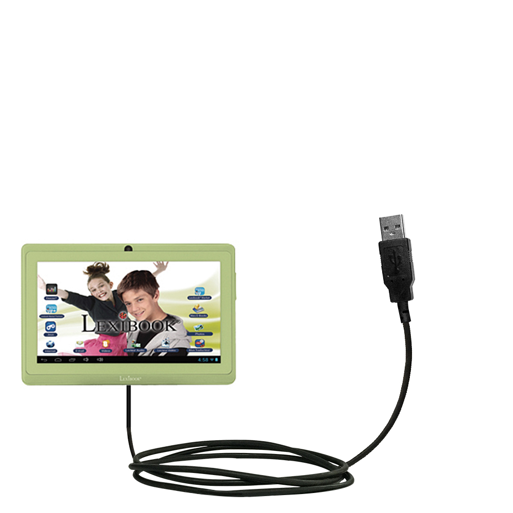 USB Cable compatible with the Lexibook Laptab MFC140EN