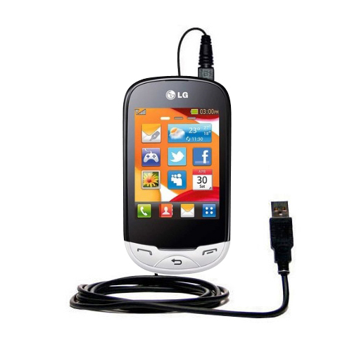 USB Cable compatible with the LG EGO Wi-Fi