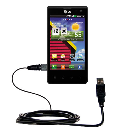 USB Cable compatible with the LG Lucid 1 / 2 / 3