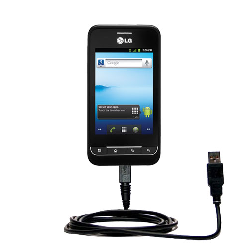 USB Cable compatible with the LG Optimus 2