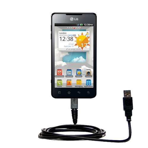 USB Cable compatible with the LG Optimus 3D Cube